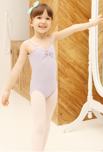 Kids/Junior - Basic strap leotard (Purple)