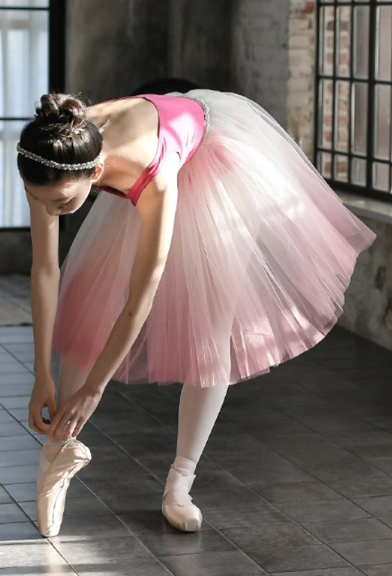 Junior/Adult - Gradation Short Tutu (Pink)