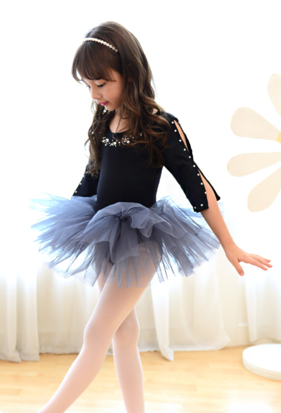 Black Pearl Tutu dress