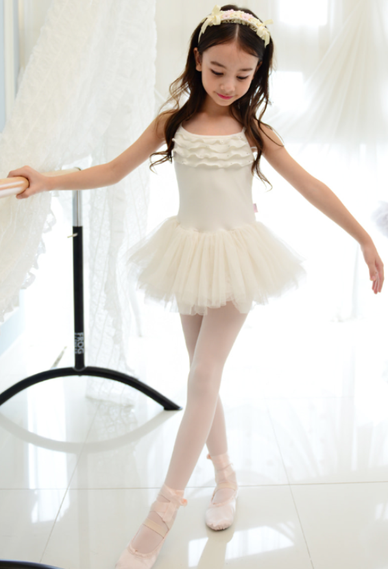 Frilly Tutu dress (Ivory)