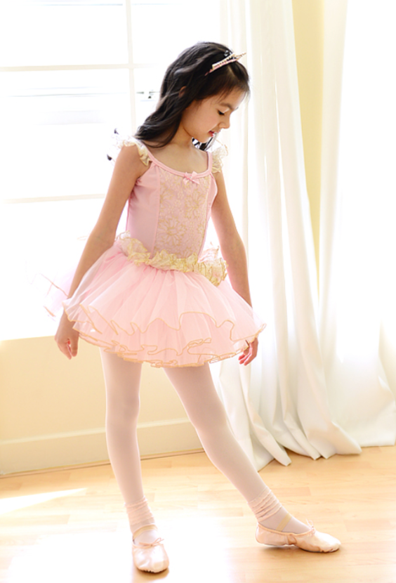 Prima Queens Tutu dress (Pink Gold)