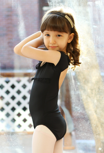 Back pointe leotard (Black)