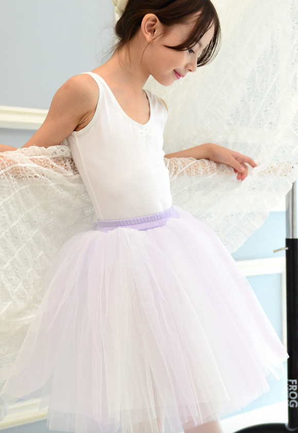 Tutu - Romantic tutu (White + Purple)
