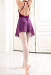Chiffon Wrap Skirt - Deep violet
