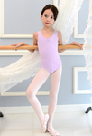 Kids/Junior - Basic sleeveless leotard (Lilac)