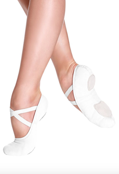 So Danca - SD16 Stretch Canvas Split Sole (White)
