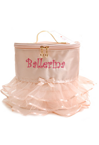 Ballerina tutu backpack - Peach (With Inner)