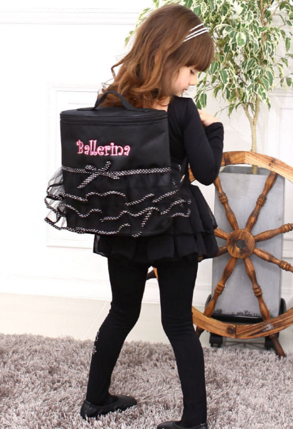 Ballerina tutu backpack - Black