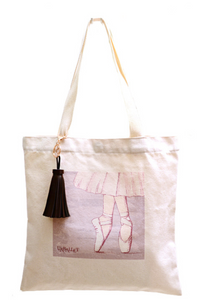 Pointe shoes eco-bag
