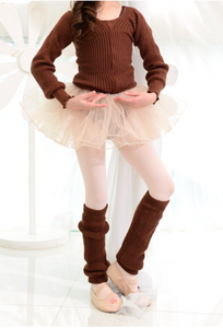 Kids - Leg warmer (Brown)