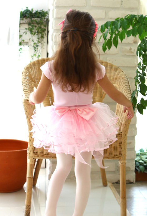 Tutu - Big ribbon pants tutu
