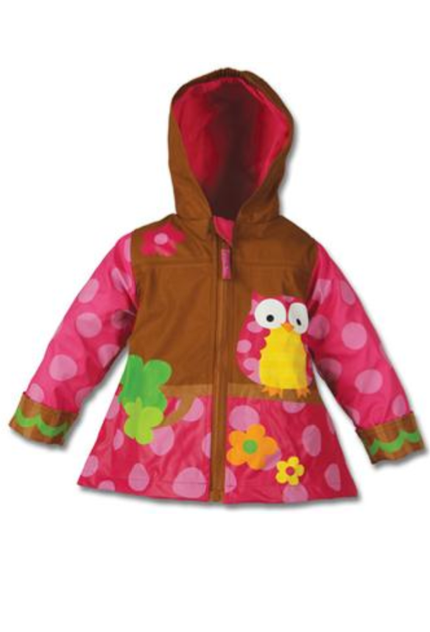 Stephen Joseph - Owl Raincoat 2