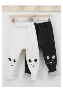 Cute Rabbit Fur Leggings