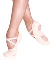 So Danca - SD16 Stretch Canvas Split Sole (Light Pink)