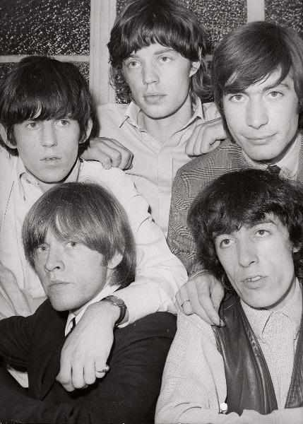 The Rolling Stones by Steve Lewis - 1960s