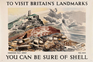 Kimmeridge Folly, You Can Be Sure of Shell by Paul Nash - 1937
