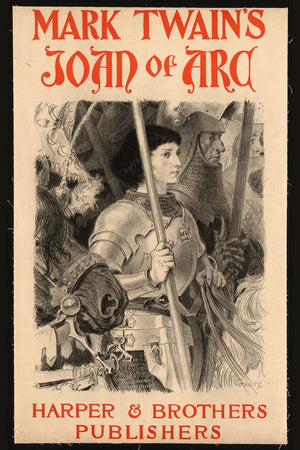 Mark Twain's Joan of Arc - 1894