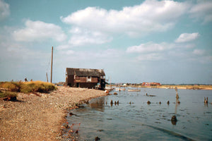 Walberswick, Suffolk by Hardwicke Knight - c.1955