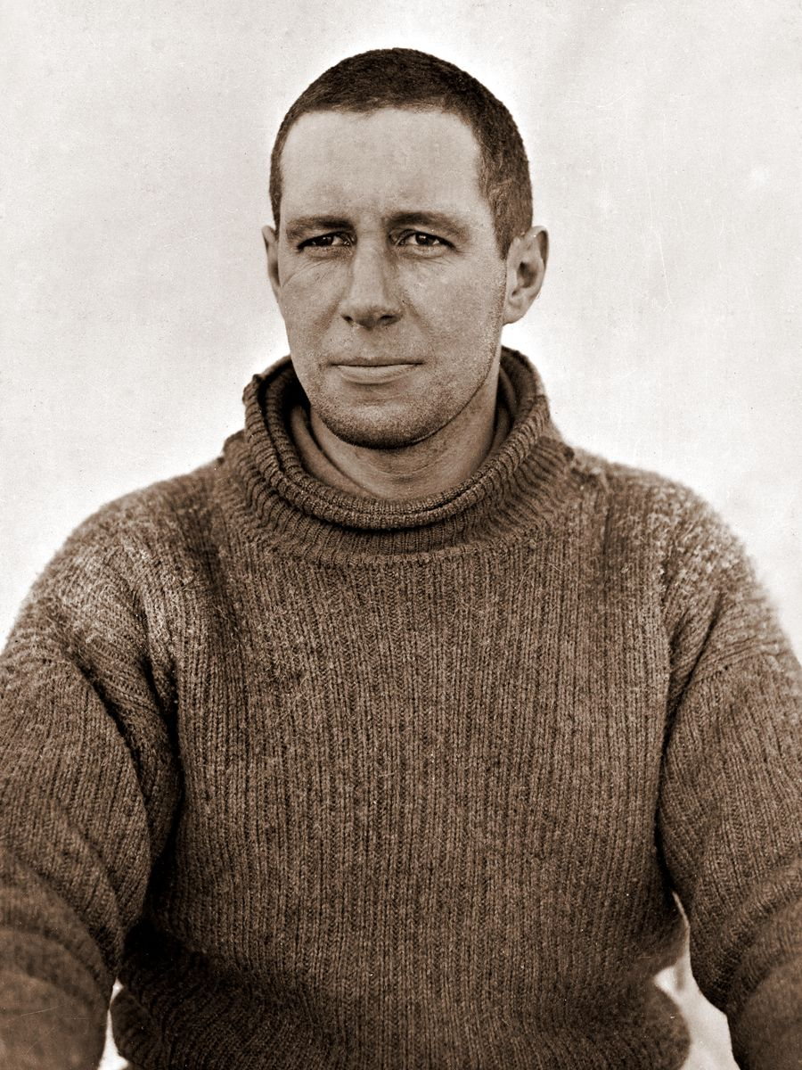 Captain Oates During the British Antarctic Expedition of 1911-1913