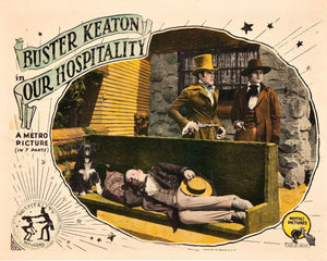 Lobby Card for Buster Keaton's 'Our Hospitality' - 1923