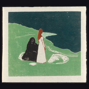 Two Women on The Shore by Edvard Munch - 1898