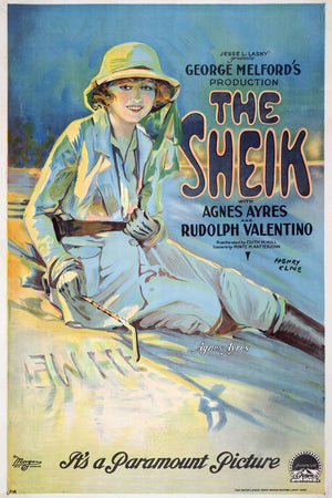 The Sheik, movie poster - 1921