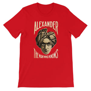 Alexander; The Man Who Knows, c.1910 - Short Sleeve T-Shirt