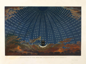 The Queen of the Night (II) by Karl Friedrich Schinkel - 1815