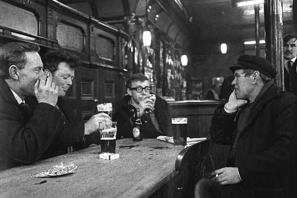 Down The Pub With Friends in East London by Steve Lewis - 1960s