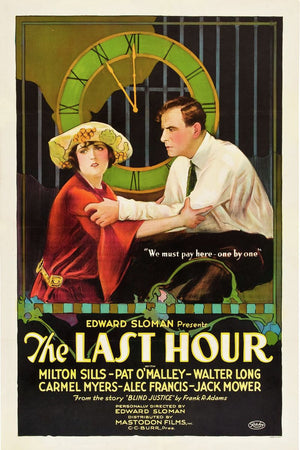 Poster for 'The Last Hour' - 1923
