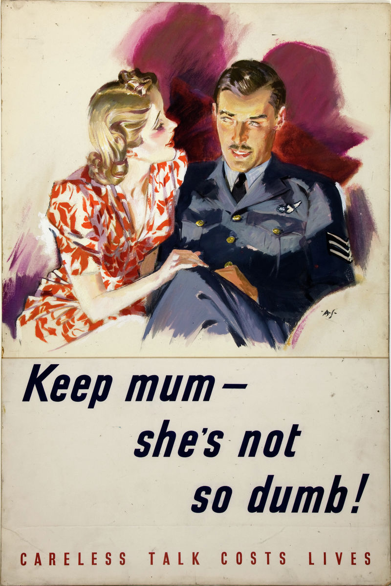 Keep Mum - She's Not So Dumb! - c. 1940