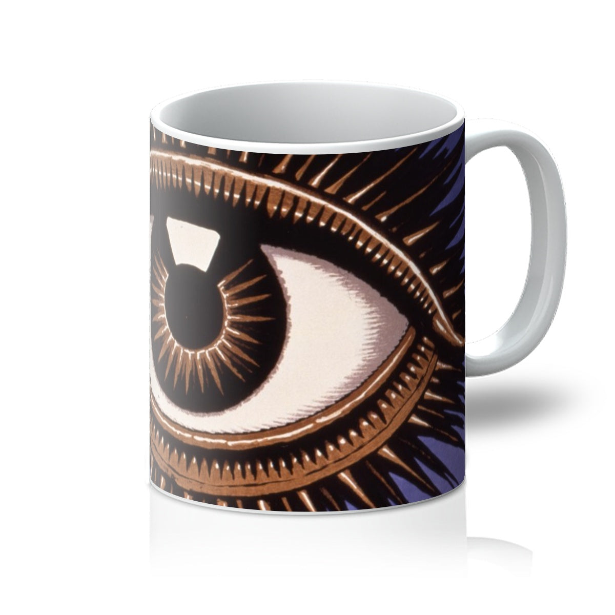 Eye by Franz von Stuck - 1911, Mug