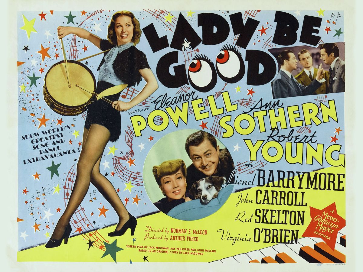 Poster for Lady Be Good - 1941