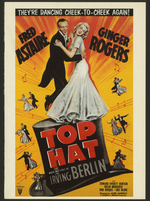 Top Hat, movie poster - 1935