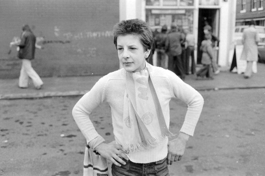 White Sweater : Manchester City Fan by Iain S. P. Reid, c. 1977
