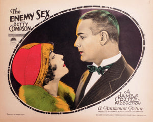 The Enemy Sex, movie poster - 1924