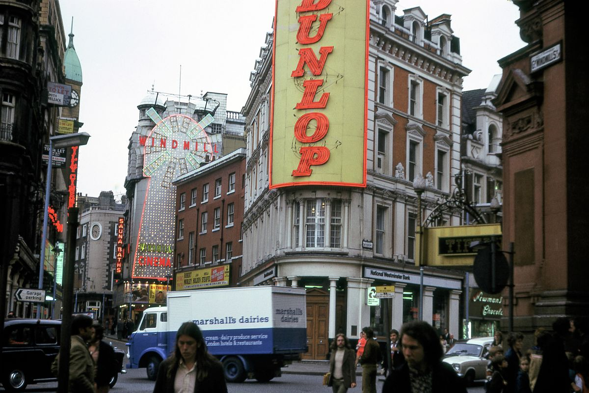 Windmill Street, London - 1972