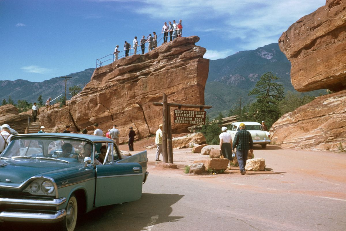 Garden of the Gods Park, Colorado by Chalmers Butterfield - c.1955