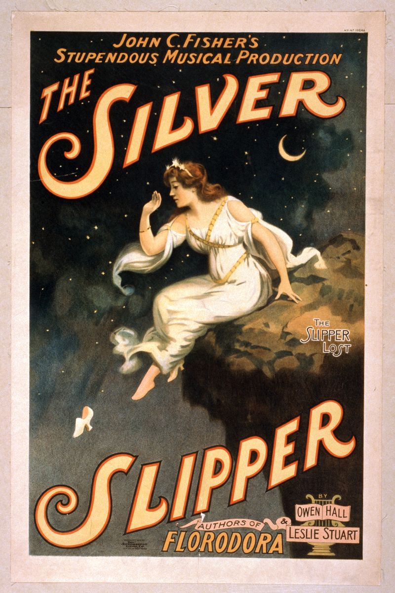 The Silver Slipper, movie poster - 1902