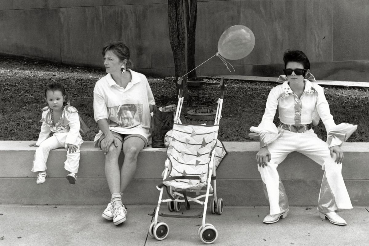 Elvis Parade, Kansas City Missouri by Michael Carlebach