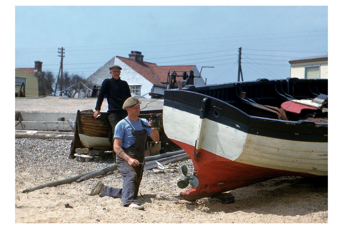 Kessingland Beach by Hardwicke Knight - c. 1955