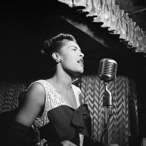 Billie Holiday at The Downbeat Club by William P. Gottlieb - 1947