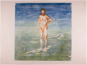 Man Bathing by Edvard Munch - 1899