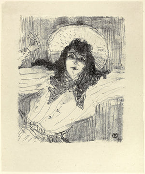 May Belfort from Treize Lithographies Date by Henri de Toulouse-Lautrec - 1898