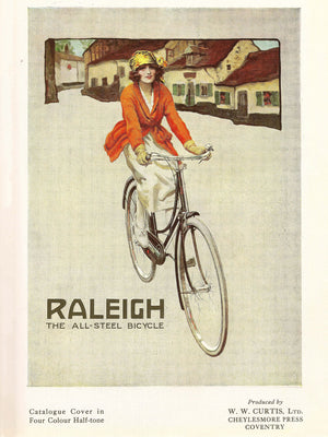 Raleigh Catalogue Cover - 1922
