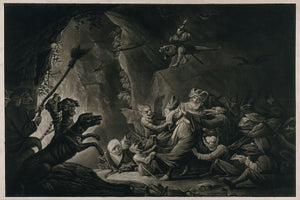 The Miser in Hell by David Teniers - c.1670