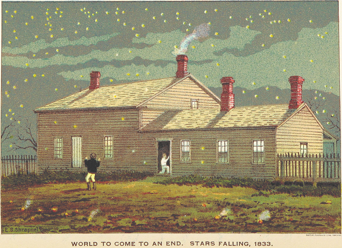 World To Come To An End, Stars Falling - 1898