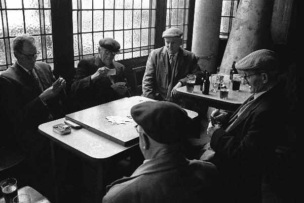 A Card School in London's East End by Steve Lewis - c.1967