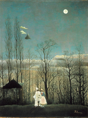 Carnival Evening by Henri Rousseau - 1886