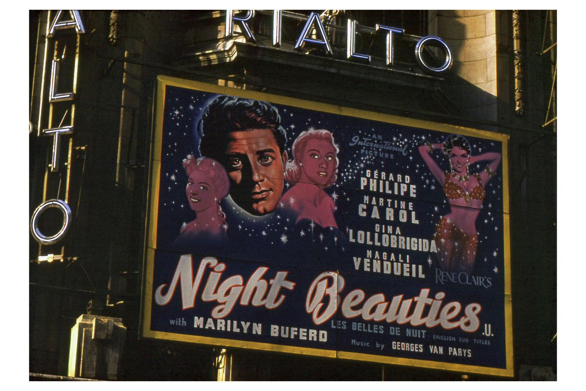 'Night Beauties' at the Rialto Cinema, Coventry Street, London by Hardwicke Knight - 1952-3